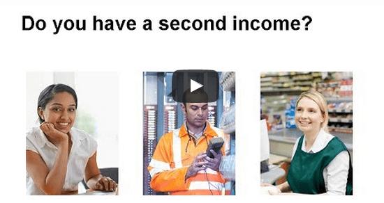 second income tax