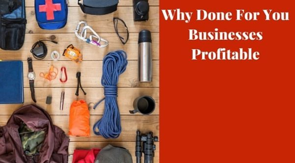 Why done for you businesses profitable