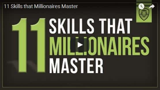 What 11 Skills that Millionaires Master Daily