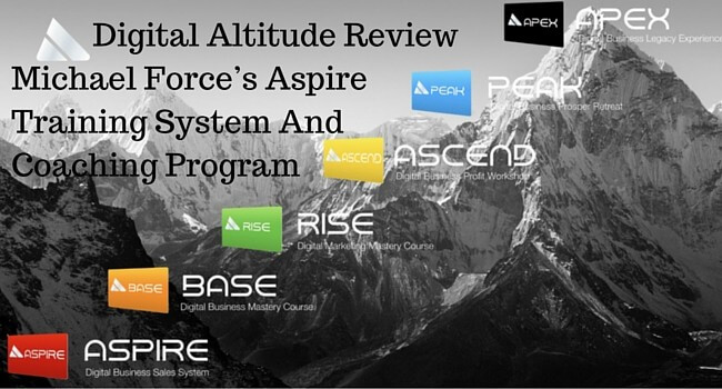 Digital altitude overview