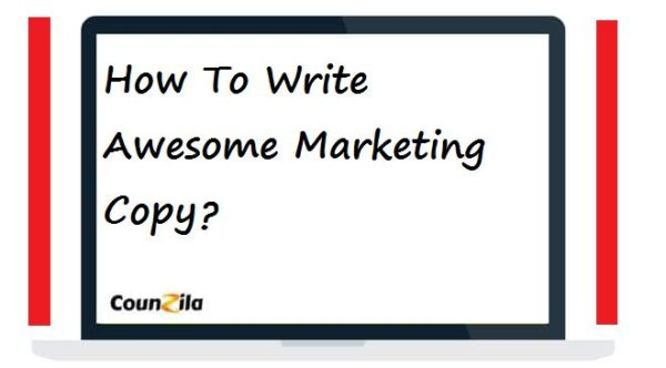 Write awesome marketing copy