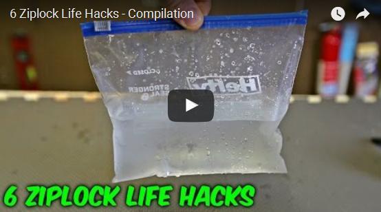 Ziplock hacks