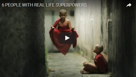 people with real life superpowers- may be you have one watch it here