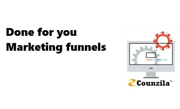 Done for you marketing funnels