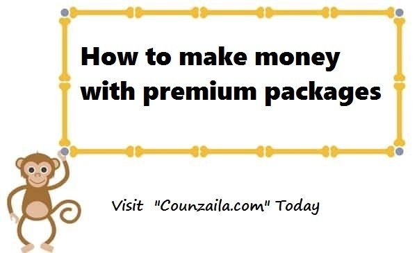 How to <a href='http://counzila.com/start-here' target='_blank'>make money</a> with premium packages
