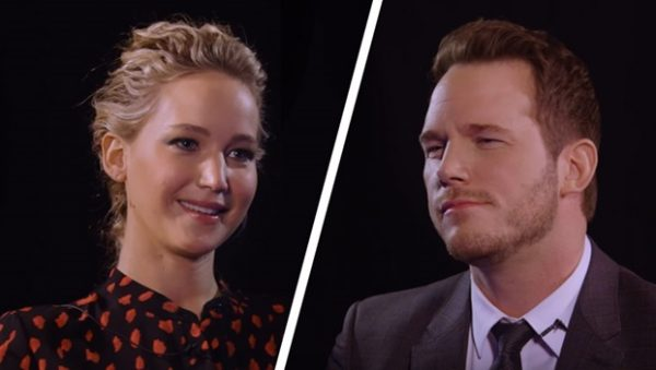 wow this is real Jennifer Lawrence & Chris Pratt Insult Each Other
