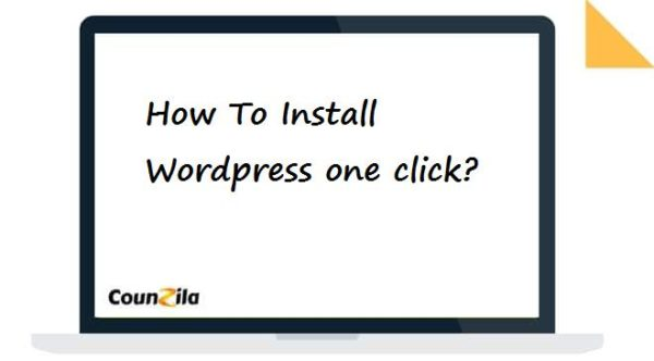 How To Install Wordpress one click