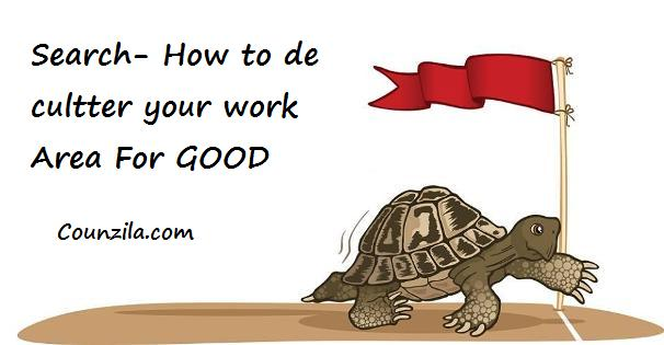 How to de cultter your work