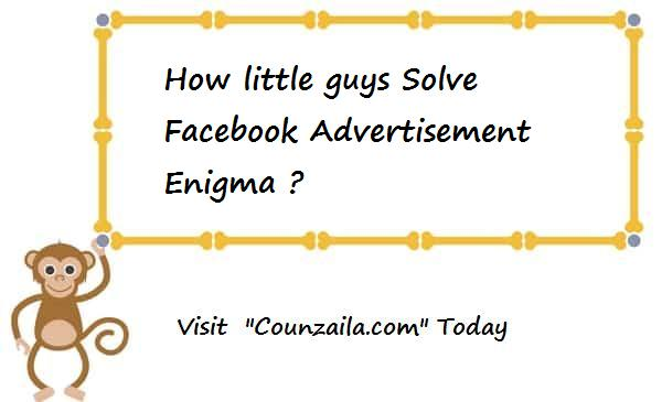 how little guys Solve Facebook Advertisement Enigma