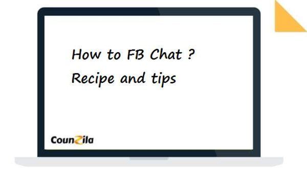 how to FB Chat ?- Recipe and tips