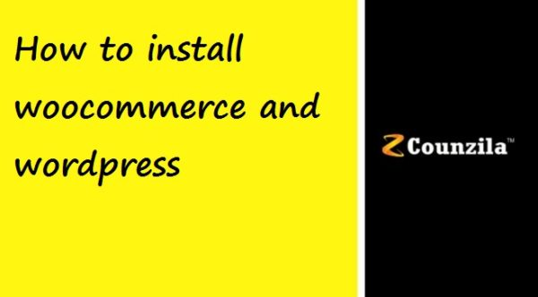 How to install wordpress woocommerce plugin