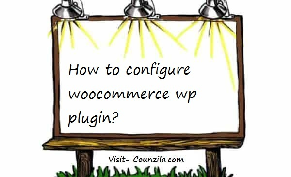 how to configure woocommerce wp plugin