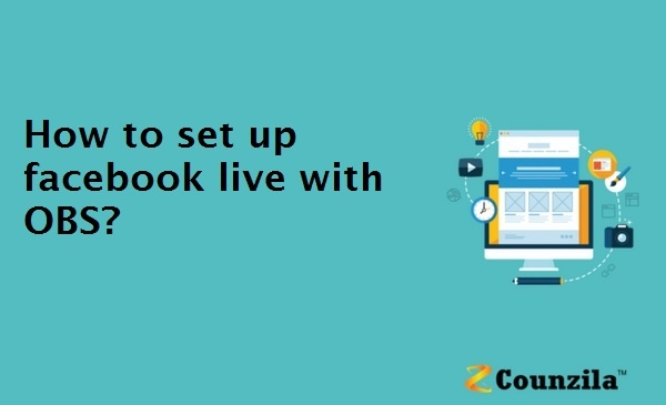 How to set up facebook live with OBS