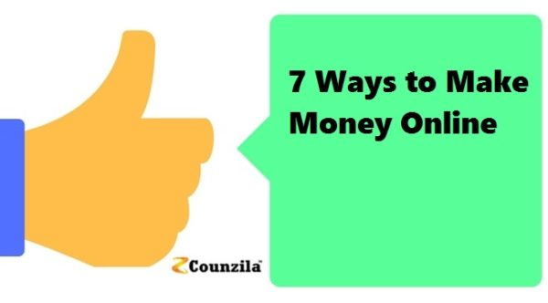 7 Ways to <a href='http://counzila.com/start-here' target='_blank'>Make Money</a> Online