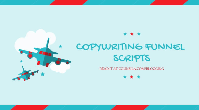 Copywriting funnel scripts