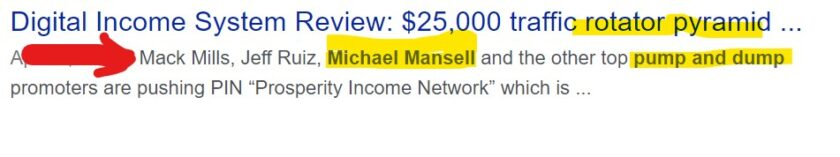 Let's talk about Michael Mansell