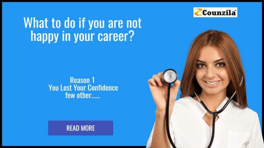 not happy career